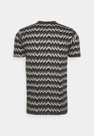 ARBATAX - Print T-shirt - black/white
