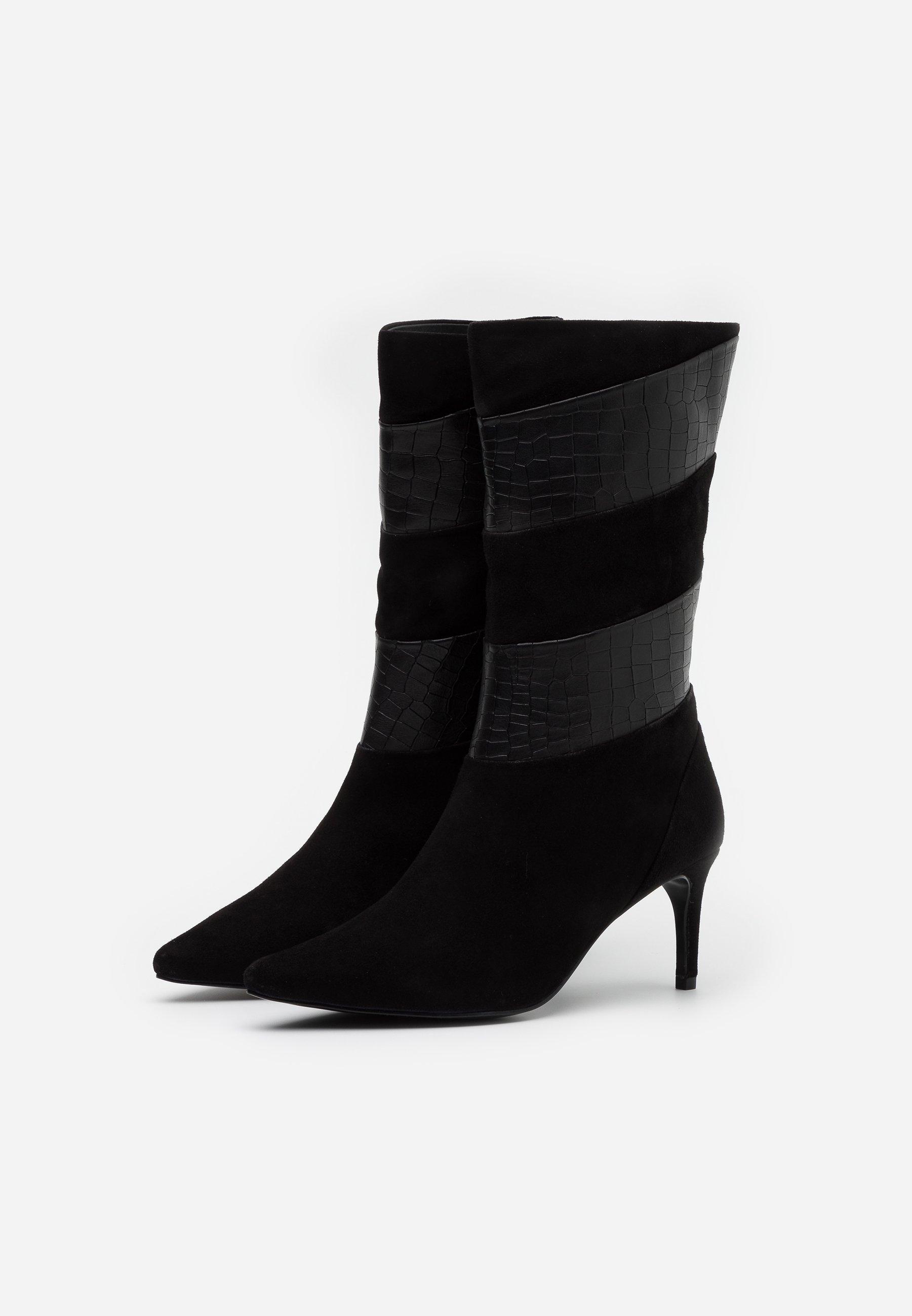 Zign Stiefel black/schwarz