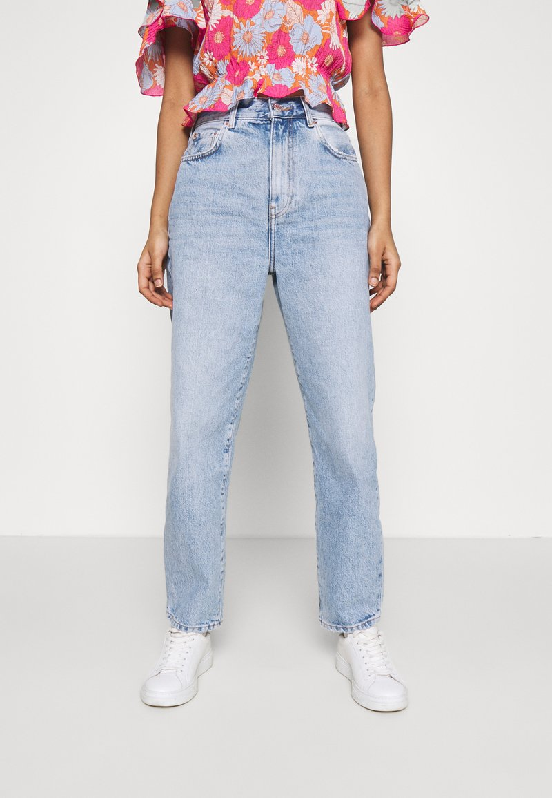 Gina Tricot - MOM - Relaxed fit jeans - mid blue