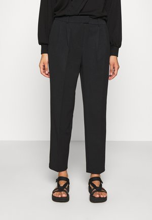 ONLEVILA-LANA CARROT PANT - Trousers - black
