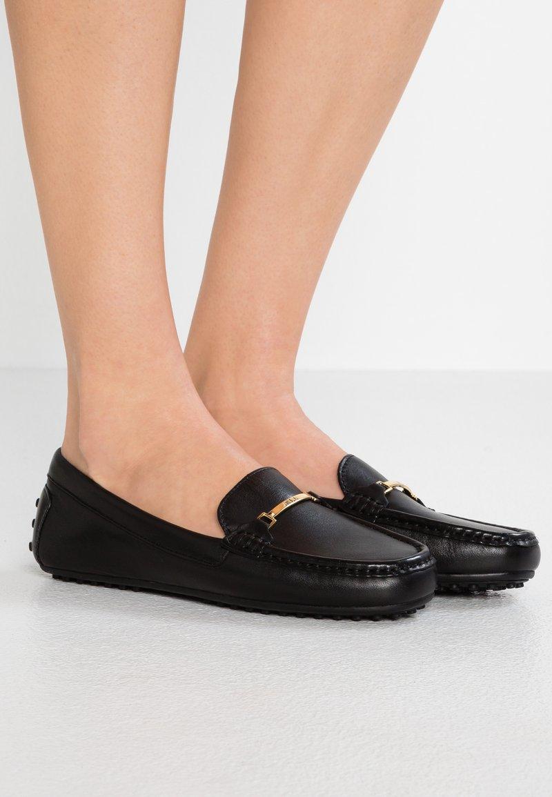 Lauren Ralph Lauren - BRIONY - Slippers - black