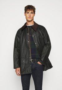Barbour - BEAUFORT JACKET - Short coat - sage - 0