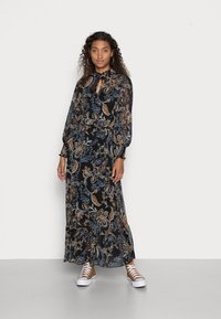 ONLY - ONLSKYE ANKLE DRESS - Maxi dress - black hand drawn - 0