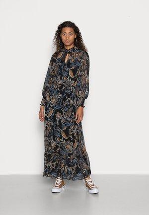 ONLSKYE ANKLE DRESS - Maxi dress - black hand drawn