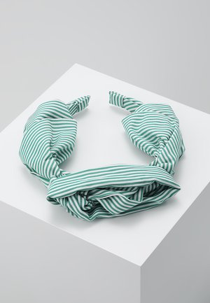 SUMMER STRIPES HEADBAND - Hair styling accessory - grass green