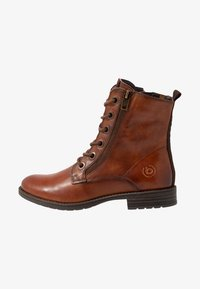 Bugatti - RONJA - Lace-up ankle boots - cognac - 1