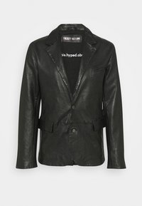 THE ONE MAN - Leather jacket - black