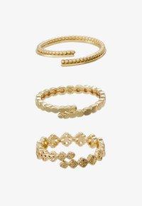 Pilgrim - JOY 3PACK - Ringar - gold-coloured - 1