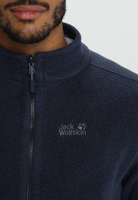Jack Wolfskin - MOONRISE JACKET MEN - Veste polaire - night blue - 5