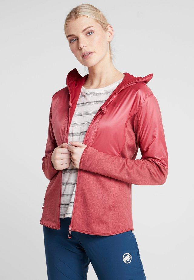 OUTLINE WARM  - Sports jacket - garnet rose