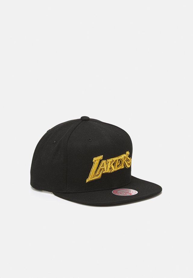 NBA LOS ANGELES LAKERS TRUE LUCK SNAPBACK  - Vereinsmannschaften - black