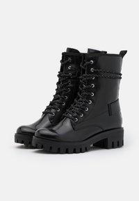 Tamaris - BOOTS - Šněrovací kotníkové boty - black - 2