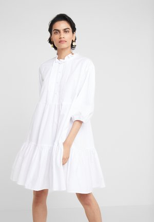 LESLEY DRESS - Shirt dress - white
