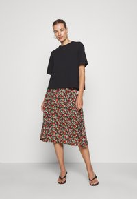 King Louie - CIRCLE SKIRT - A-line skirt - black - 1
