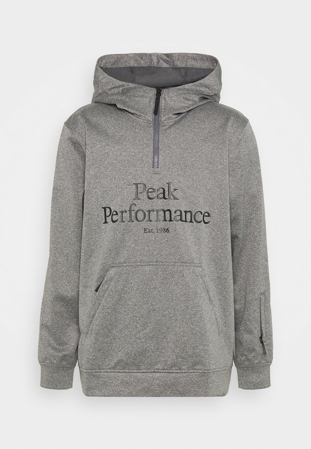 ORIGINAL SKI HOOD - Sweater - grey melange