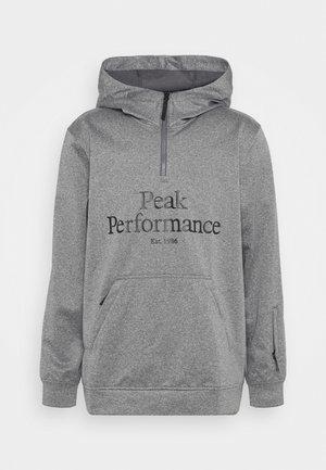 ORIGINAL SKI HOOD - Sweatshirt - grey melange
