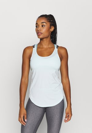 SPORT X BACK TANK - Sports shirt - seaglass blue