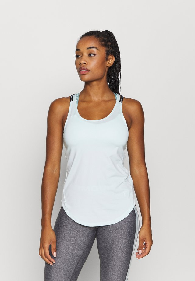 SPORT X BACK TANK - Funktionströja - seaglass blue