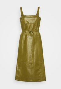 Proenza Schouler White Label - LIGHTWEIGHT BELTED DRESS - Robe d'été - military - 7