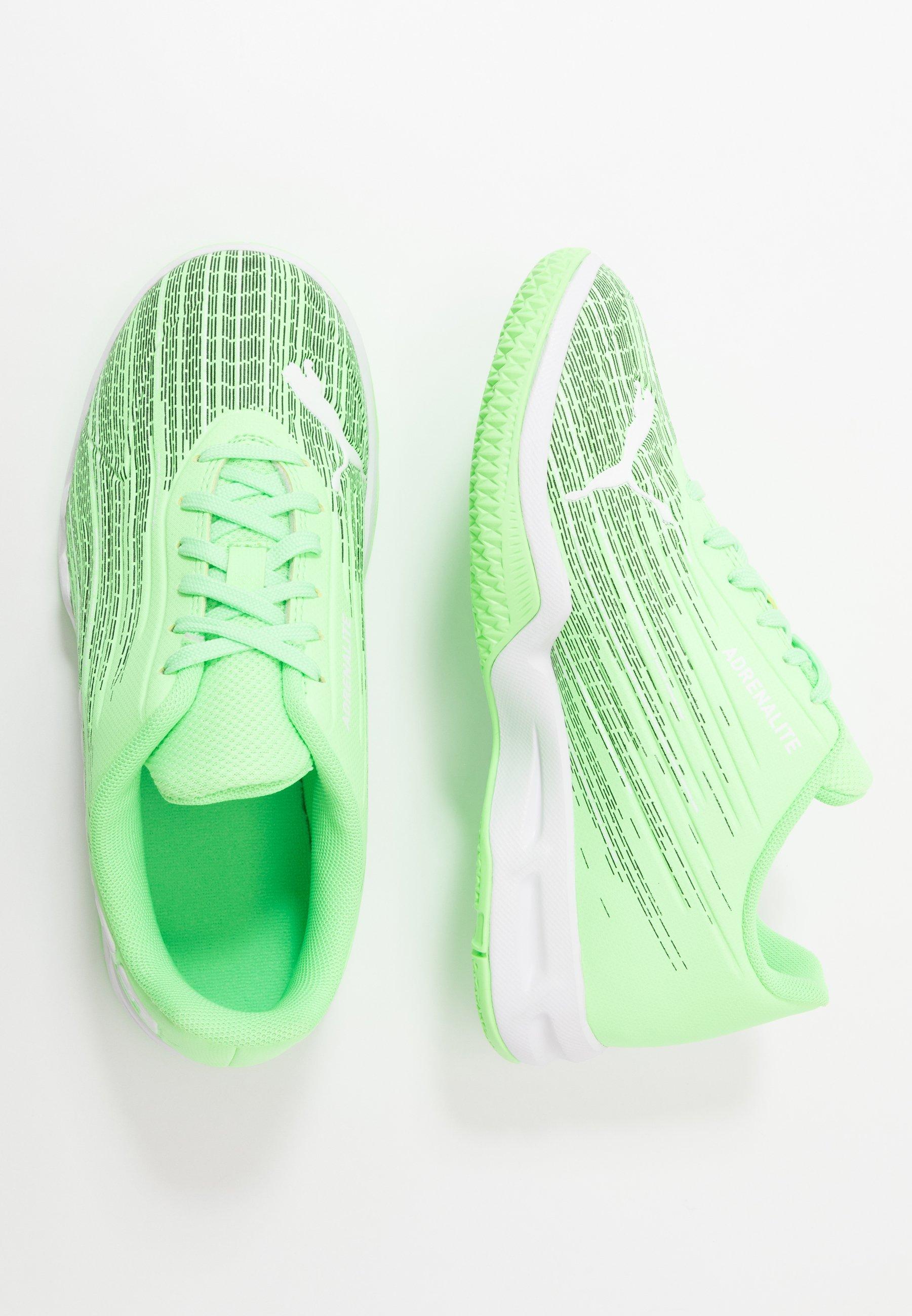 Soltero Leche Inicialmente  Puma ADRENALITE 4.1 - Zapatillas de balonmano - elektro green/white/verde  neón - Zalando.es