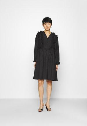 CAMERON DRESS - Shirt dress - black