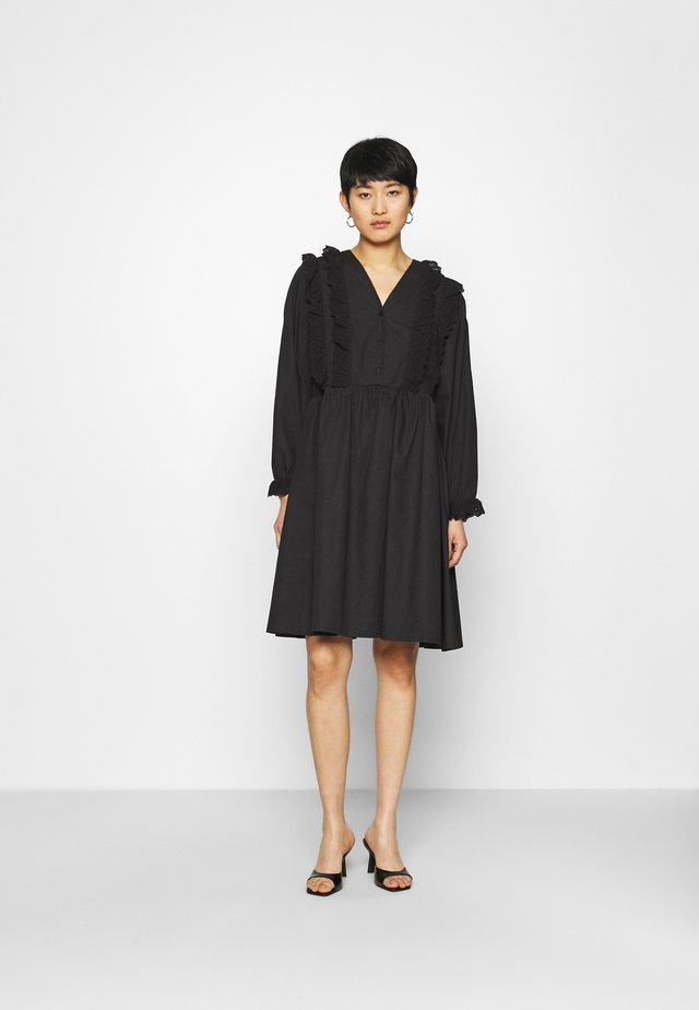 CAMERON DRESS - Shirt dress - black