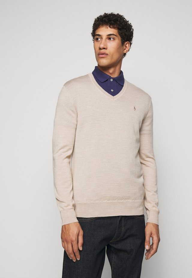 Pullover - oatmeal heather