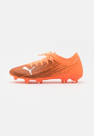ULTRA 3.1 FG/AG - Moulded stud football boots - shocking orange/black