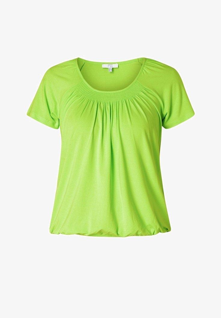 Yest - Print T-shirt - lime