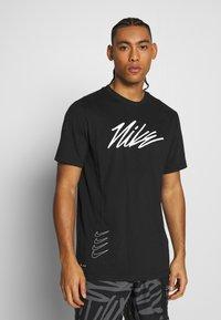 Nike Performance - DRY TEE PROJECT X - Camiseta estampada - black - 0