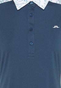 J.LINDEBERG - CARA GOLF - Polo shirt - animal blue white - 2
