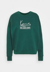 Karl Kani - SIGNATURE CREW - Felpa - green - 4