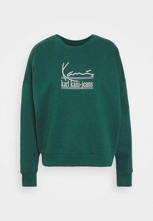 SIGNATURE CREW - Sweater - green