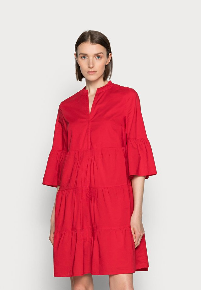 Skjortekjole - red