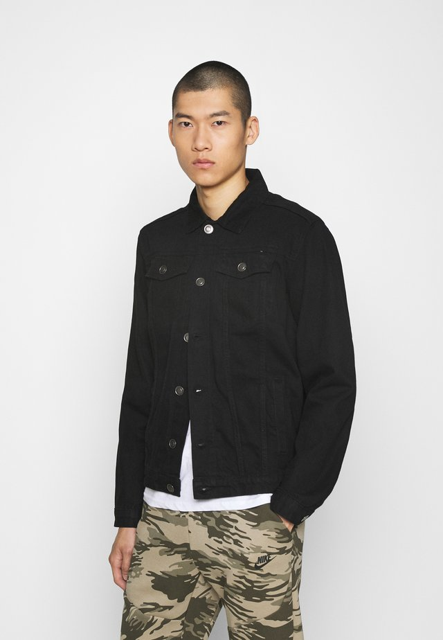 JACKET - Giacca di jeans - black