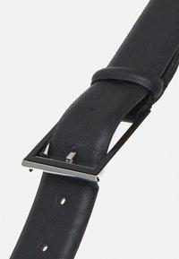 Calvin Klein - TWO STEP MONO - Belt - black - 2