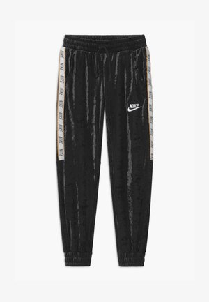 Tracksuit bottoms - black/white/club gold