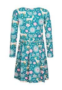 happy girls - Day dress - petrol - 1
