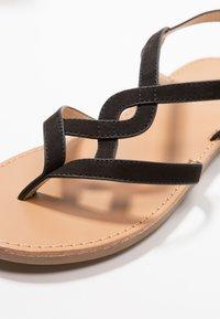 Anna Field - T-bar sandals - black - 2