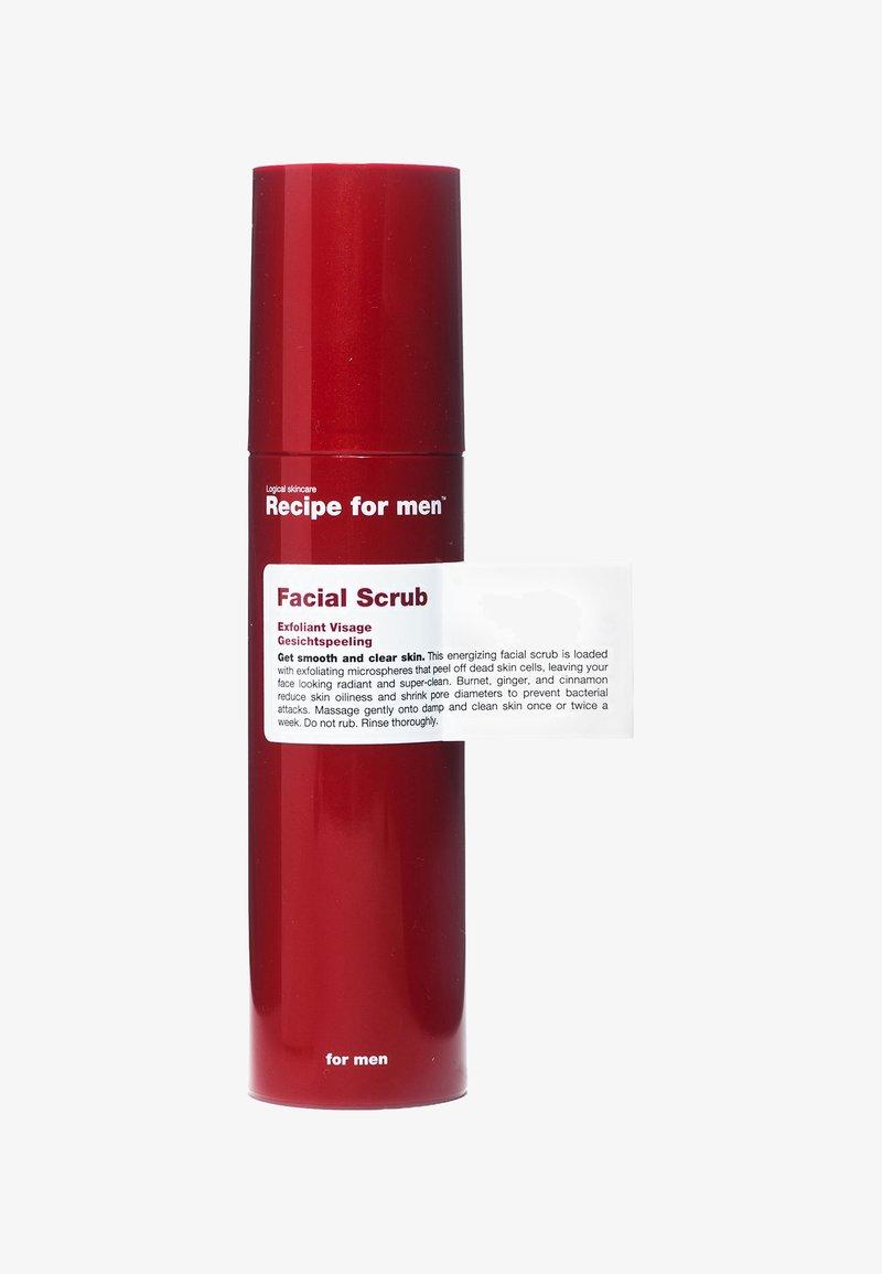 Recipe For Men - FACIAL SCRUB 100ML - Peeling viso - -