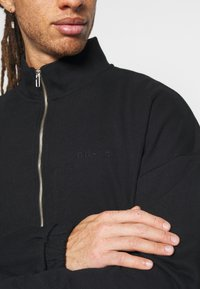 NU-IN - ZIP UP TRACK - Zip-up hoodie - black - 5