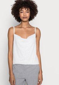 Esprit Collection - PAILETTEN TOP - Top - off white - 4