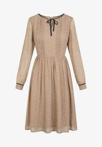 ORSAY - PUNKTEN - Jumper dress - creme beige - 3