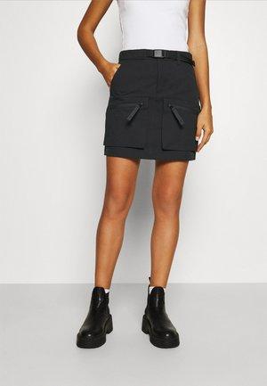 HURST SKIRT - Maxi skirt - black
