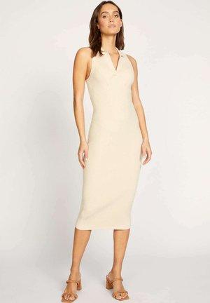 LOLA PANEL - Shift dress - a sesame