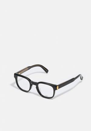 UNISEX - Sinistä valoa suodattavat lasit - black/black/transparent