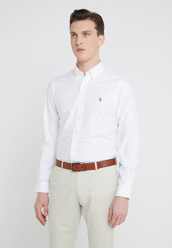 Polo Ralph Lauren SLIM FIT - Koszula - white/biały Odzież Męska NCJV