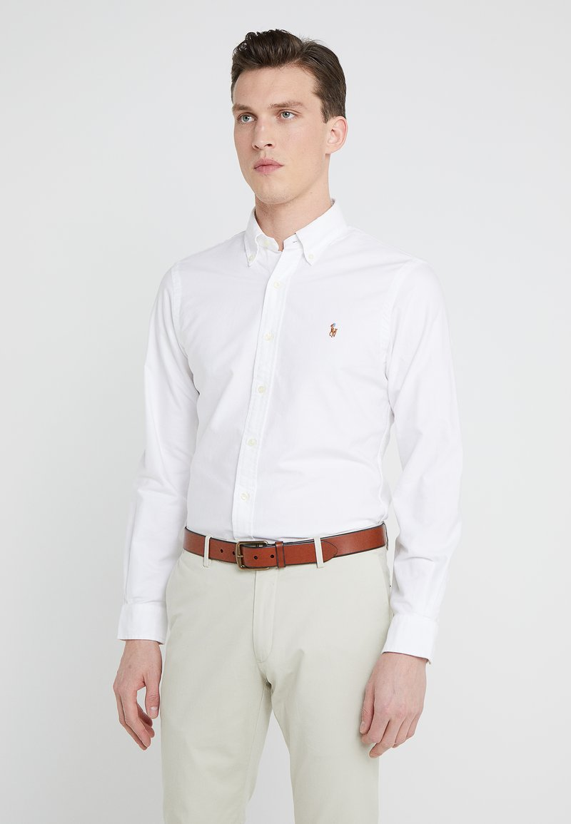 Polo Ralph Lauren - SLIM FIT - Koszula - white