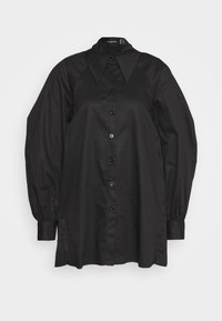 Mossman - IF I CAN'T HAVE YOU SHIRT - Button-down blouse - black - 0