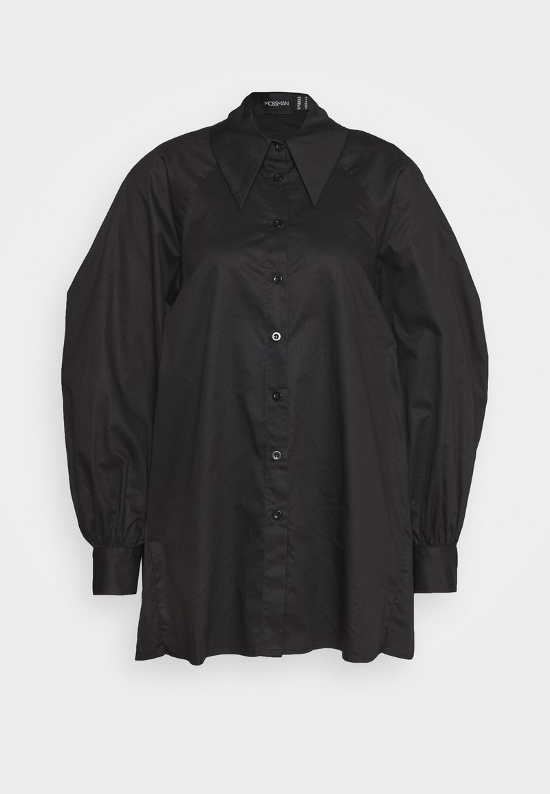 Mossman - IF I CAN'T HAVE YOU SHIRT - Button-down blouse - black